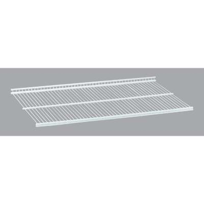 Organized Living FreedomRail 2 Ft. W. x 16 in. D Profile Ventilated Closet Shelf, White