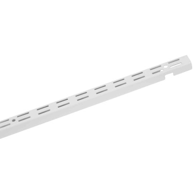 Closetmaid ShelfTrack 12 In. White Closet Shelf Standard