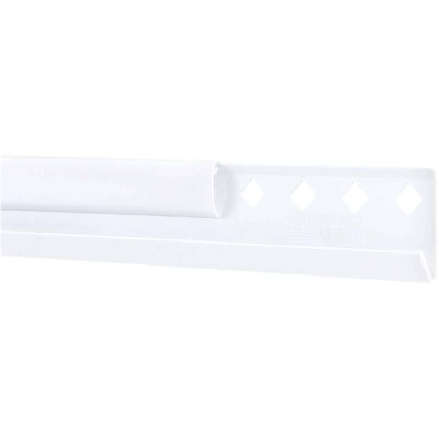 FreedomRail 42 In. White Horizontal Hanging Rail with Cover