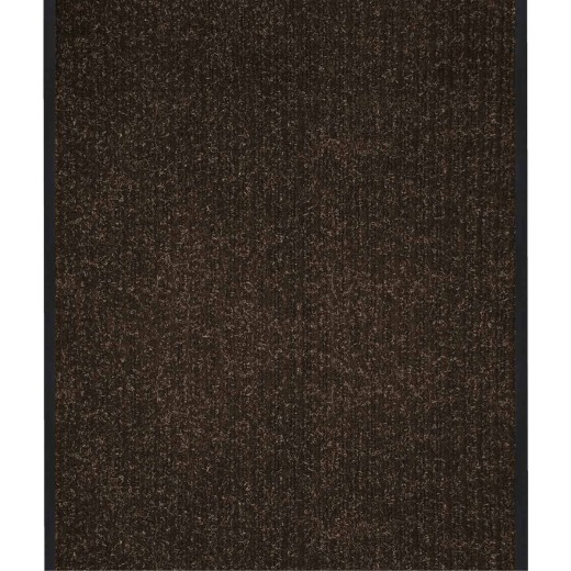 Multy Home Platinum 3 Ft. x 45 Ft. Brown Carpet Runner, Indoor/Outdoor