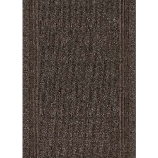 Multy Home Tracker 26 In. x 60 Ft. Tan Carpet Runner, Indoor/Outdoor