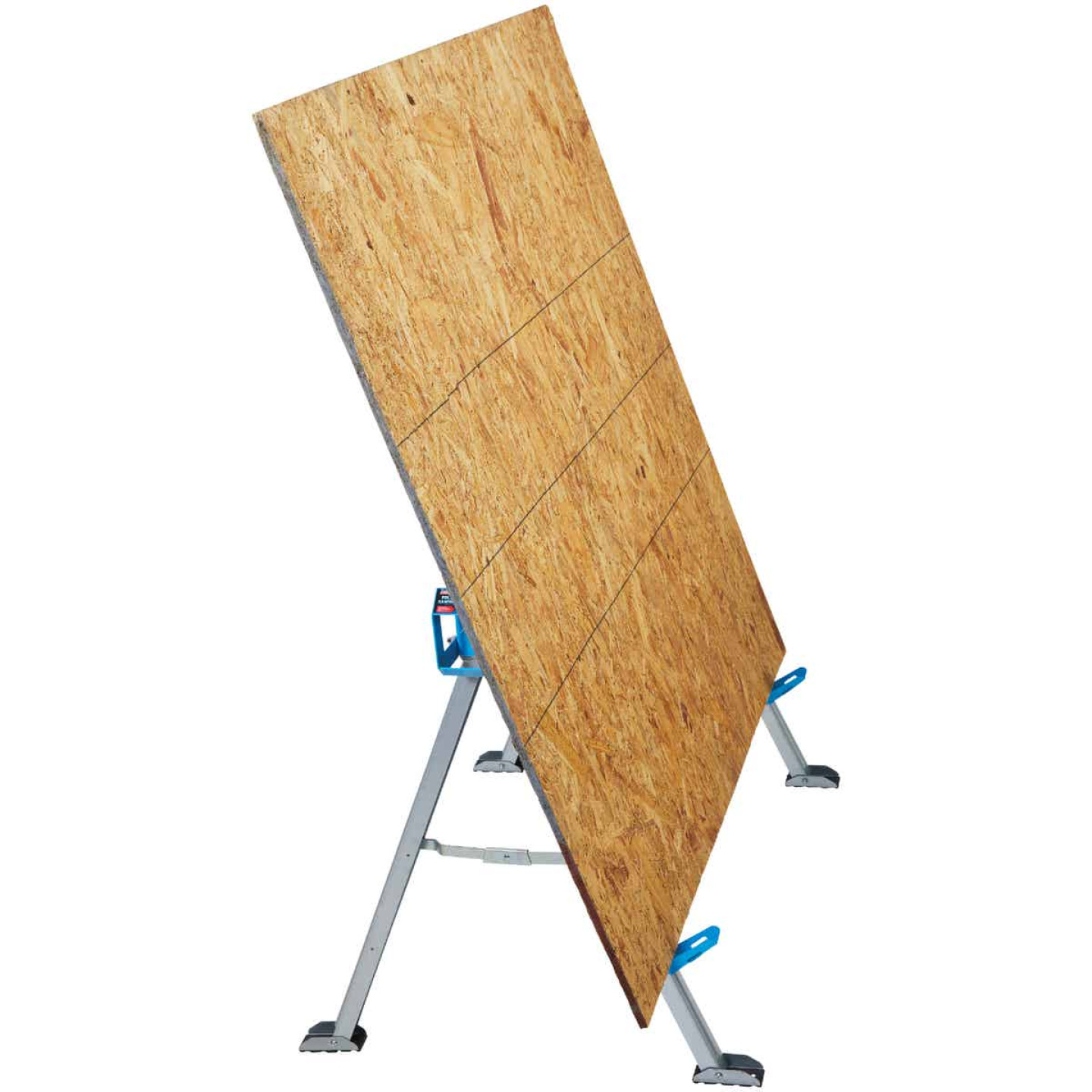 Channellock 46-1/2 In. L Steel Folding Sawhorse, 2200 Lb. Capacity Image 4