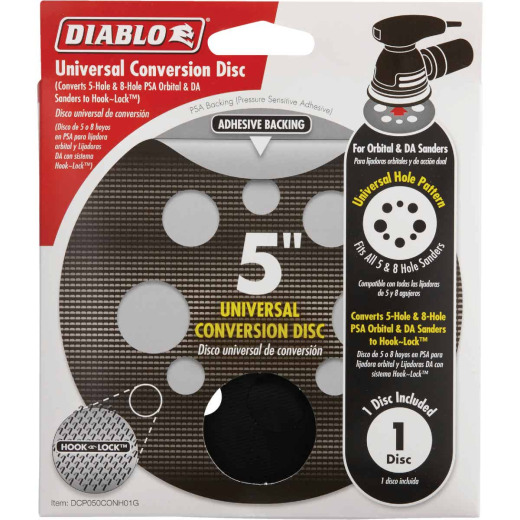 Diablo 5 In. Conversion Sanding Disc Backing Pad
