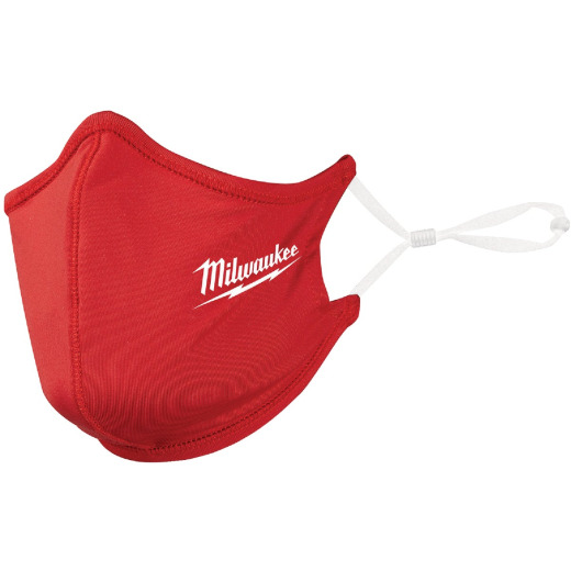 Milwaukee Red 2-Layer Washable Dust & Face Mask (3-Pack)