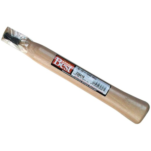 Do it Best 1-1/2 In. Straight Hickory Hand-Drilling Hammer Handle