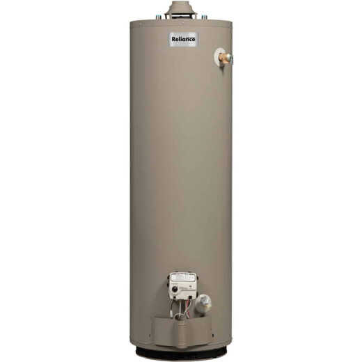 Reliance 50 Gal. Tall 6yr 40,000 BTU Natural Gas Water Heater