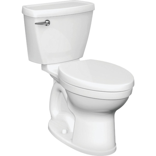 American Standard Champion 4 Right Height White Round Bowl 1.28 GPF Toilet
