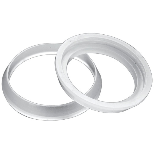 Do it 1-1/4 In. x 1-1/4 In. Clear Poly Slip Joint Washer (2 Pack)