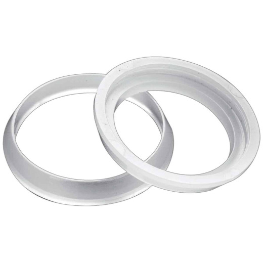 Do it 1-1/4 In. Clear Poly Slip Joint Washer (2 Pack)