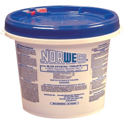 Norweco Crystal Tablet 10 Lb. Sewer Line Cleaner