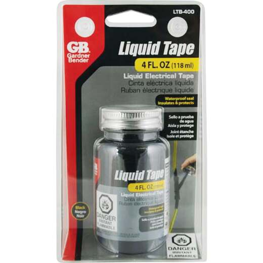 Gardner Bender 4 Oz. Black Electrical Liquid Tape