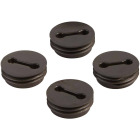 Bell 1/2 In. Weatherproof Bronze Closure Plug (4-Pack) Image 1