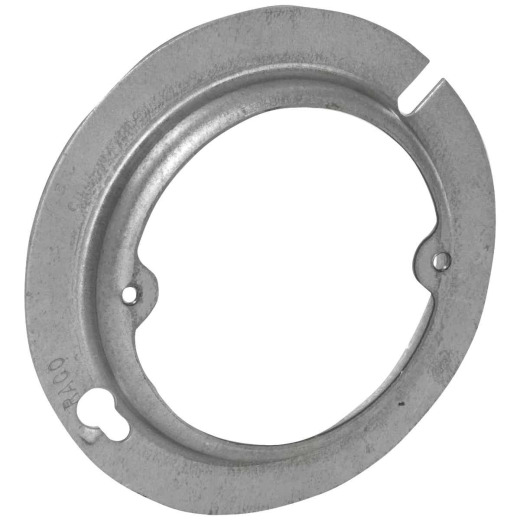 Raco 1/2 In. x 4 In. Open Round Steel Raised Cover