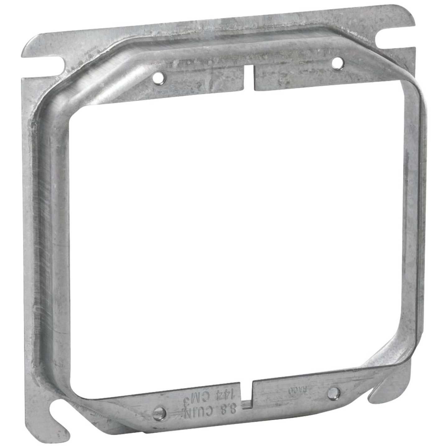 Raco 2-Device Combination 4 In. x 4 In. Square Raised Cover Image 1