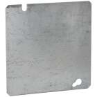 Raco 4-11/16 In. Square Flat Blank Cover Image 1