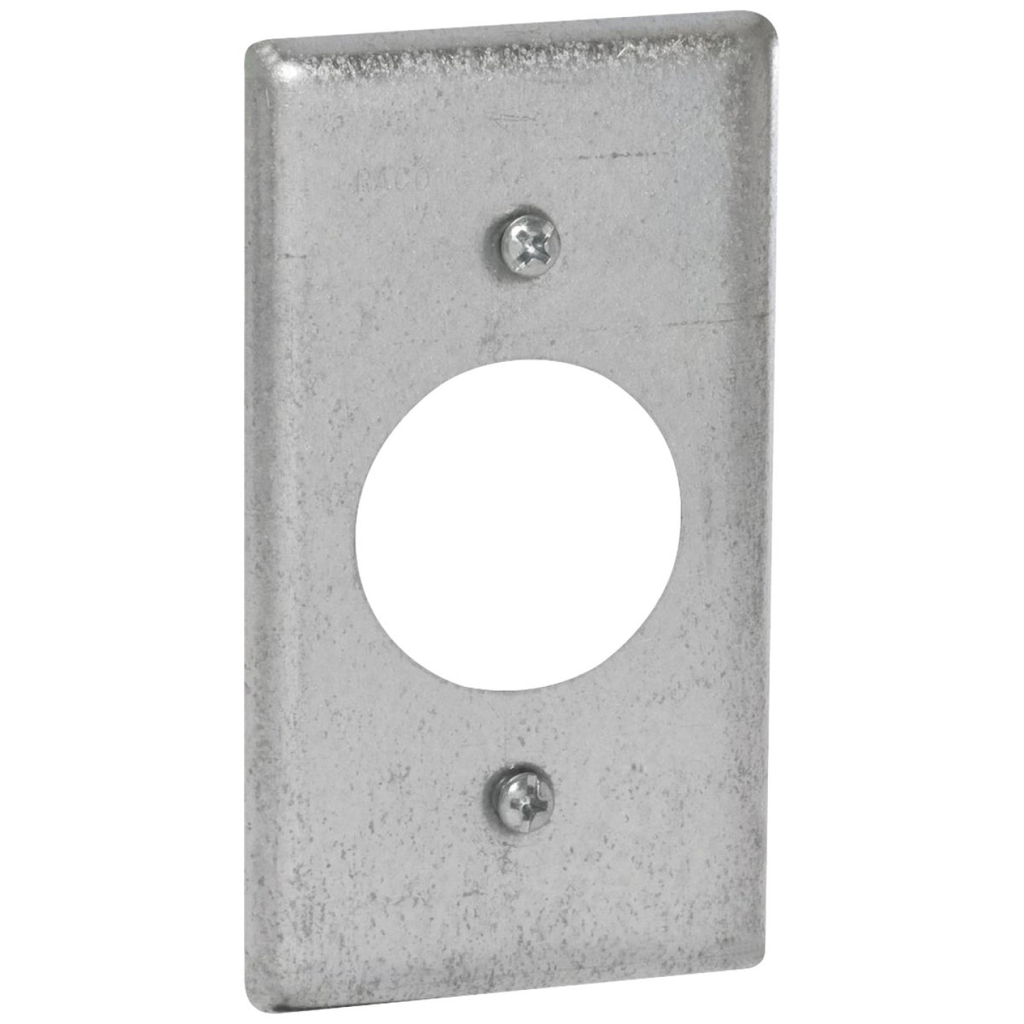 Raco Single Receptacle 4 In. x 2-1/8 In. Handy Box Cover Image 1