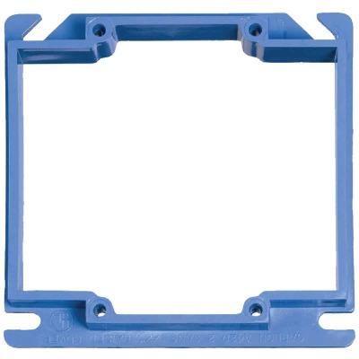Carlon Gang Type 4 In. x 4 In. Square Raised Cover