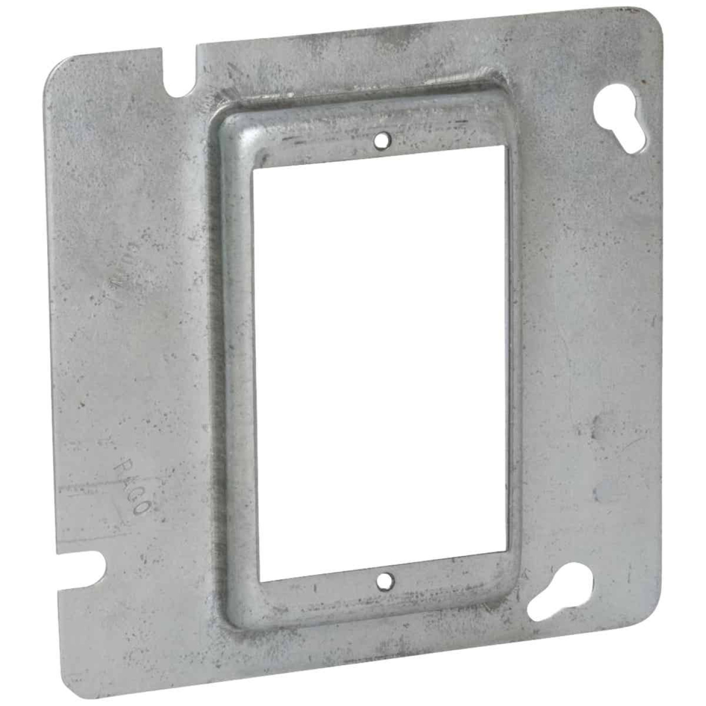 Raco 1-Device Combination 4-11/16 In. x 4-11/16 In. Square Raised Cover Image 1