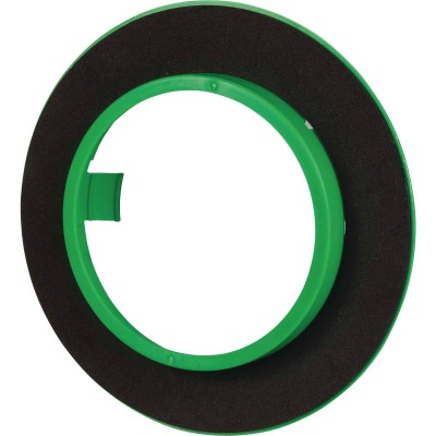 Madison Electric PVC Round Electrical Ceiling Box Draft Seal