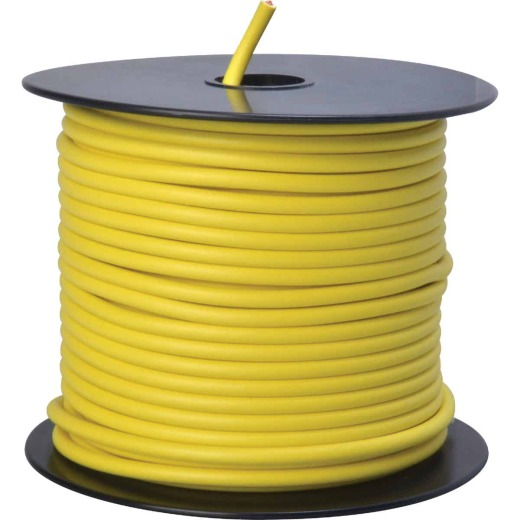 ROAD POWER 100 Ft. 12 Ga. PVC-Coated Primary Wire, Yellow