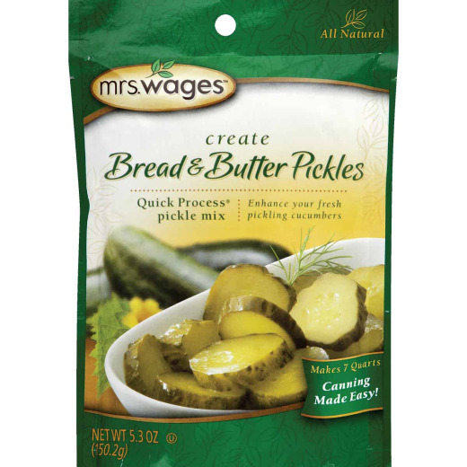 Mrs. Wages Quick Process 5.3 Oz. Bread & Butter Pickling Mix