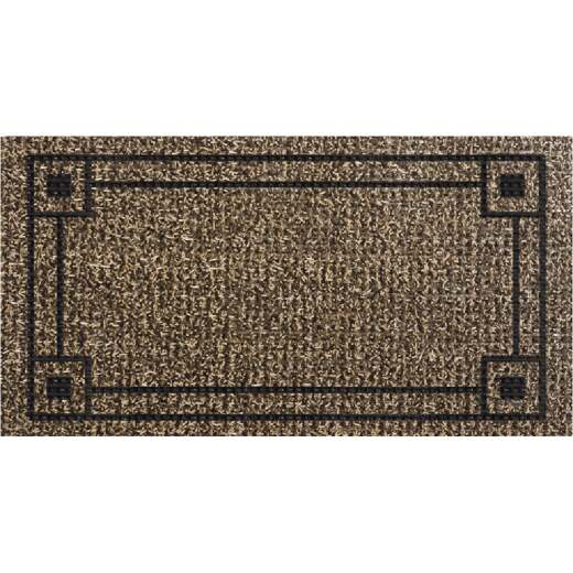 GrassWorx Sand 18 In. x 30 In. AstroTurf High Traffic Door Mat