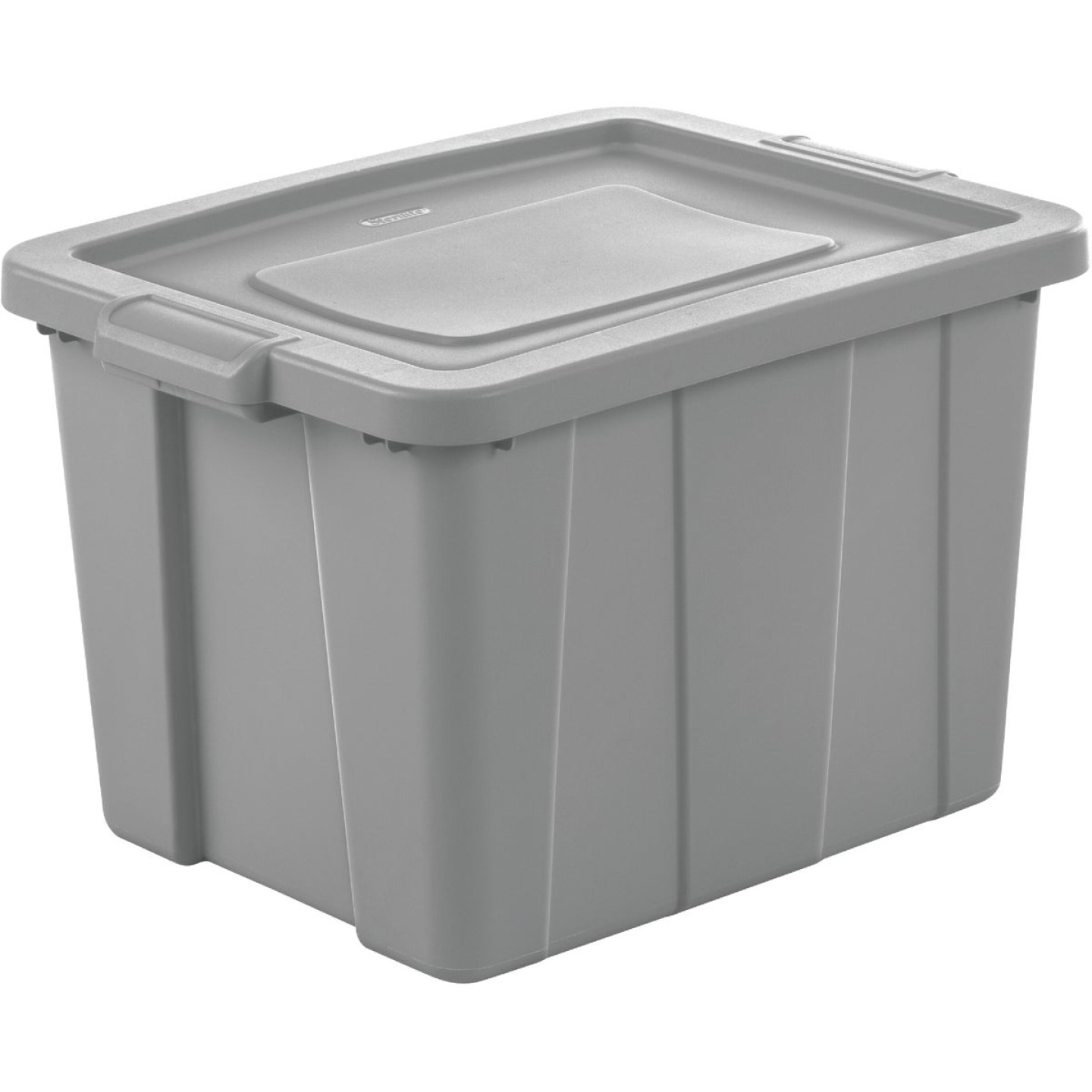 Sterilite Tuff1 18 Gal. Cement Tote with Handles Image 1