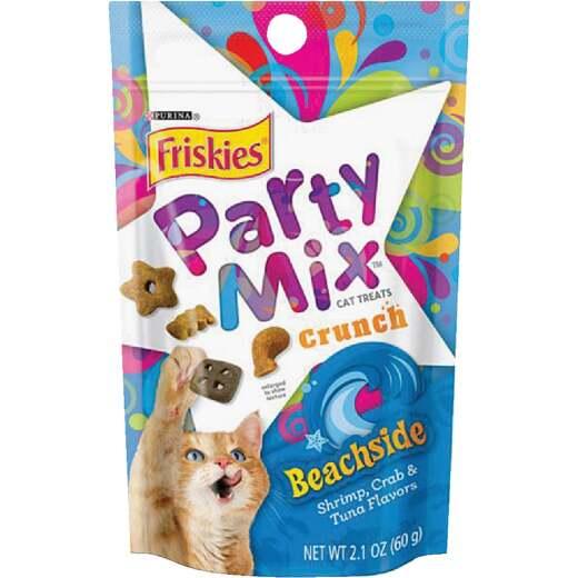 Purina Party Mix Beachside-Shrimp, Crab, & Tuna 2.1 Oz. Cat Treat