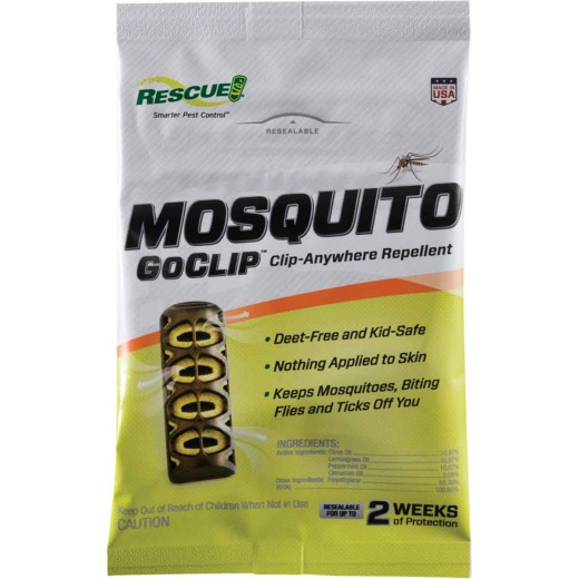 Rescue GoClip 6-Day Yellow Personal Mosquito Repellent