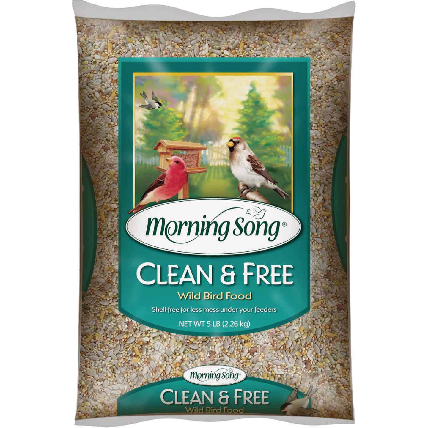 Morning Song 5 Lb. Clean & Free Shell Free Wild Bird Seed Image 1