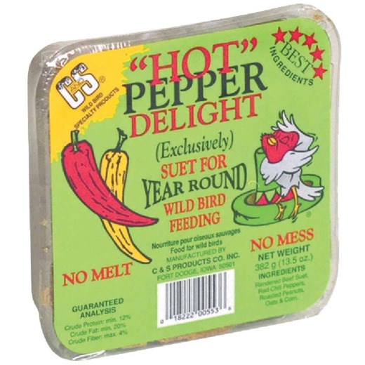 C&S 13.5 Oz. Hot Pepper Delight Suet