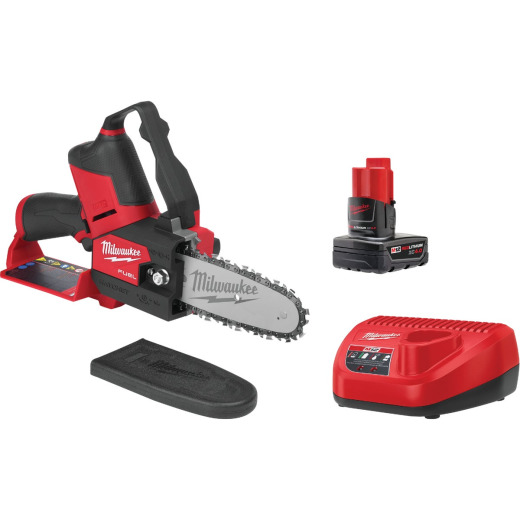 Milwaukee M12 Fuel Hatchet 6 In. 12V Pruning Saw Kit