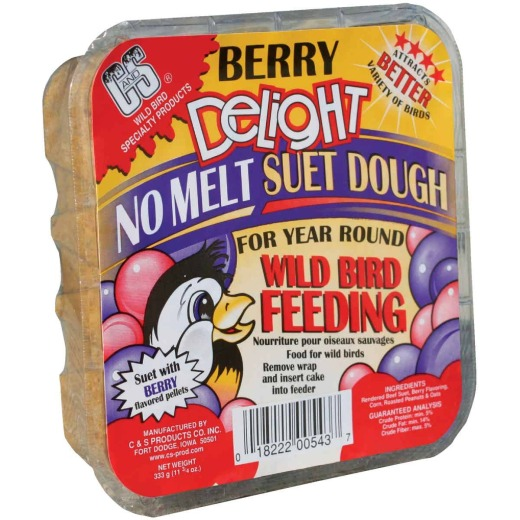 C&S 11.75 Oz. Berry Delight Suet Dough