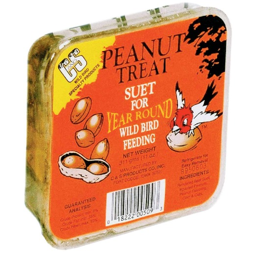 C&S 11 Oz. Peanut Treat Suet