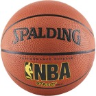 Spalding Outdoor NBA Street Basketball, Unofficial Size Image 1