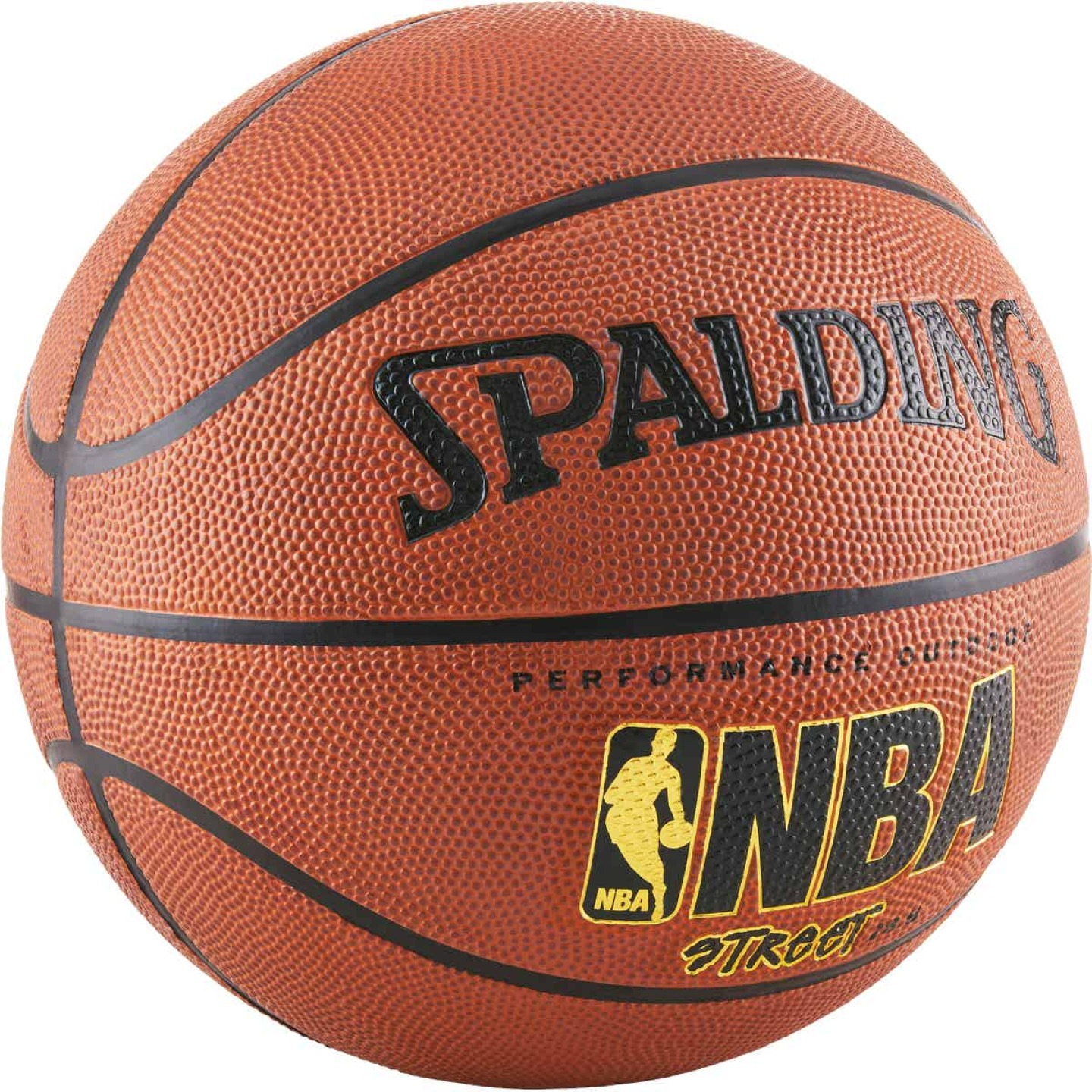 Spalding Outdoor NBA Street Basketball, Unofficial Size Image 2