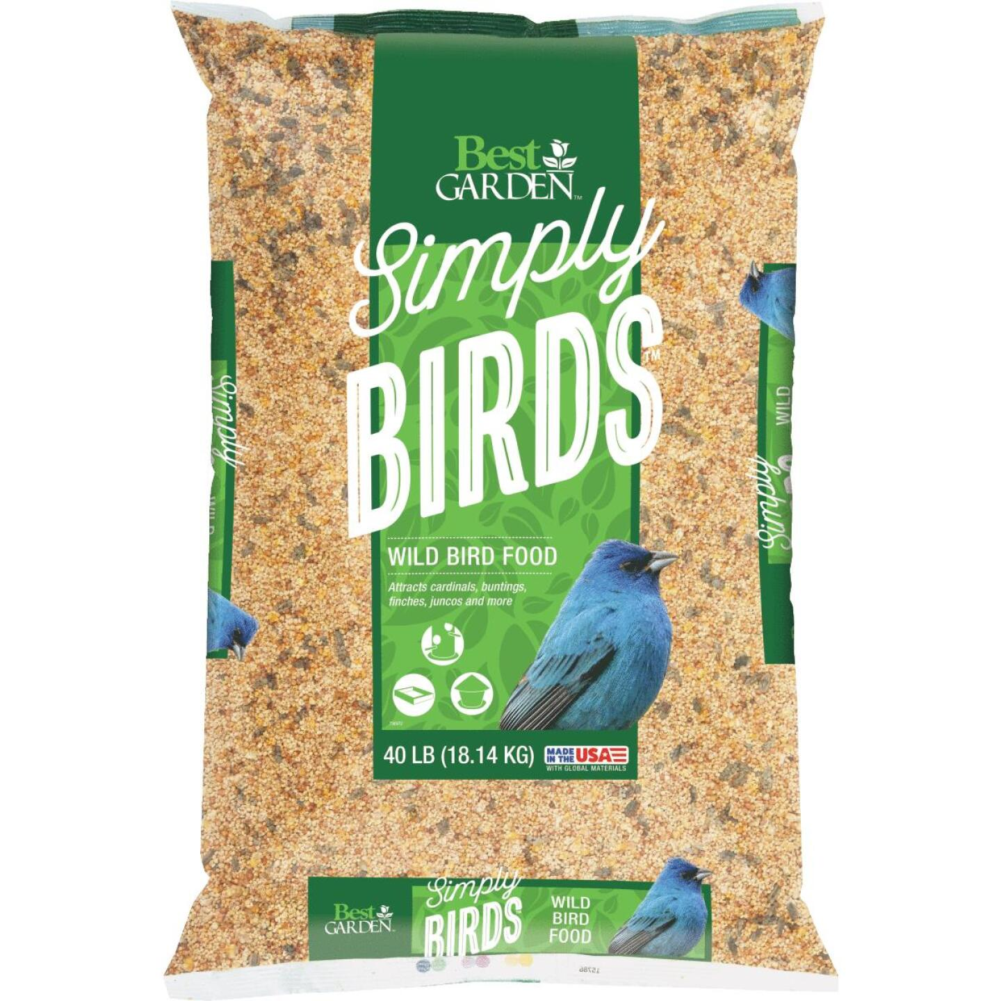 Best Garden Simply Birds 40 Lb. Wild Bird Seed Image 1