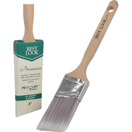 Best Look Premium 2 In. Angle Nylyn Paint Brush