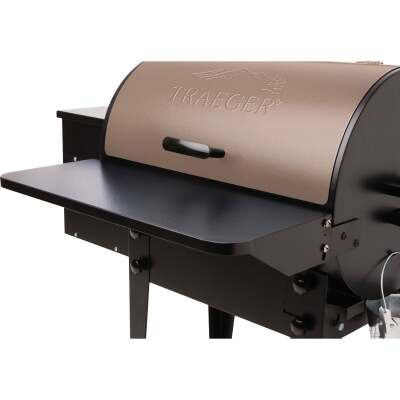 Traeger 20 Series Front Folding 23.25 In. W. x 10 In. L. Steel Grill Shelf