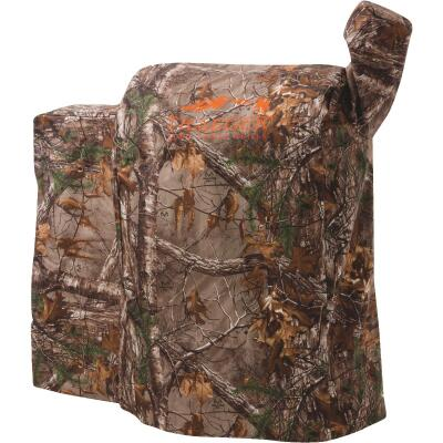 Traeger RealTree 22 Series 35 In. Camo PVC Full-Length Grill Cover