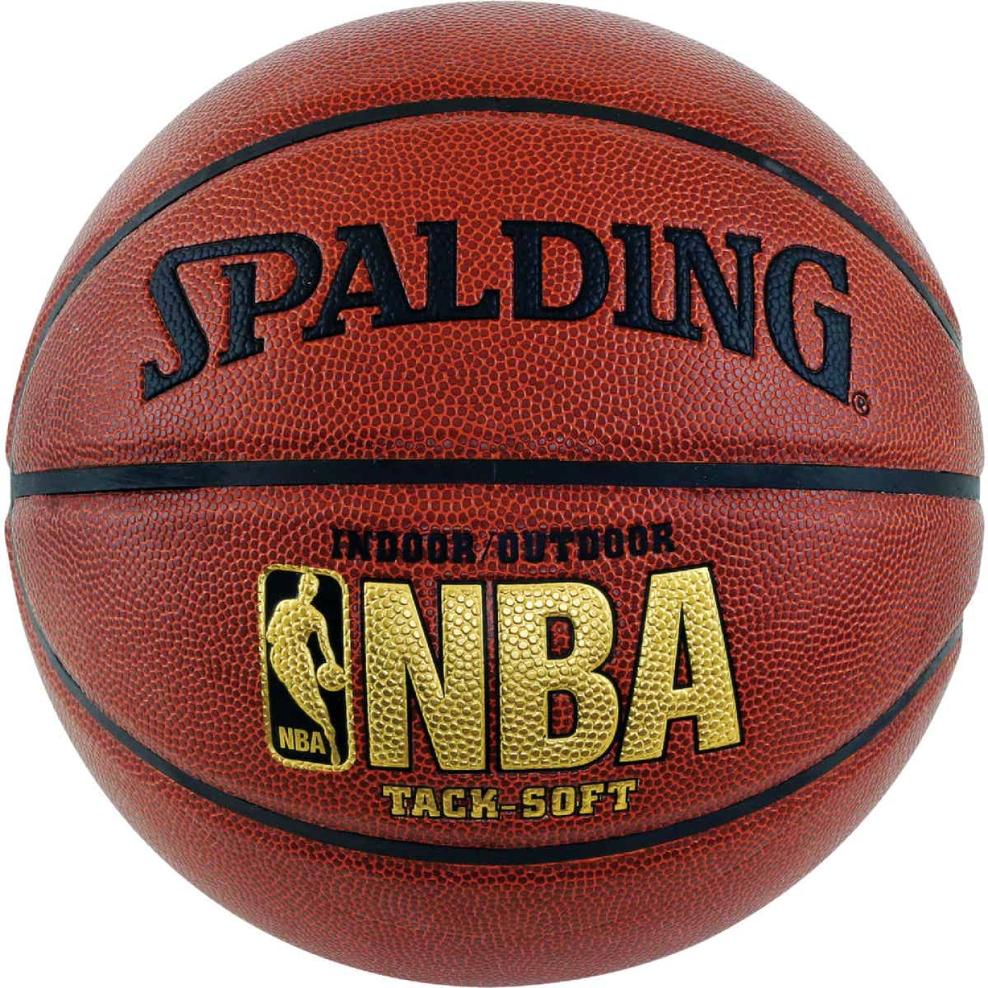 Spalding Indoor/Outdoor Tack-Soft Basketball, Official Size Image 1
