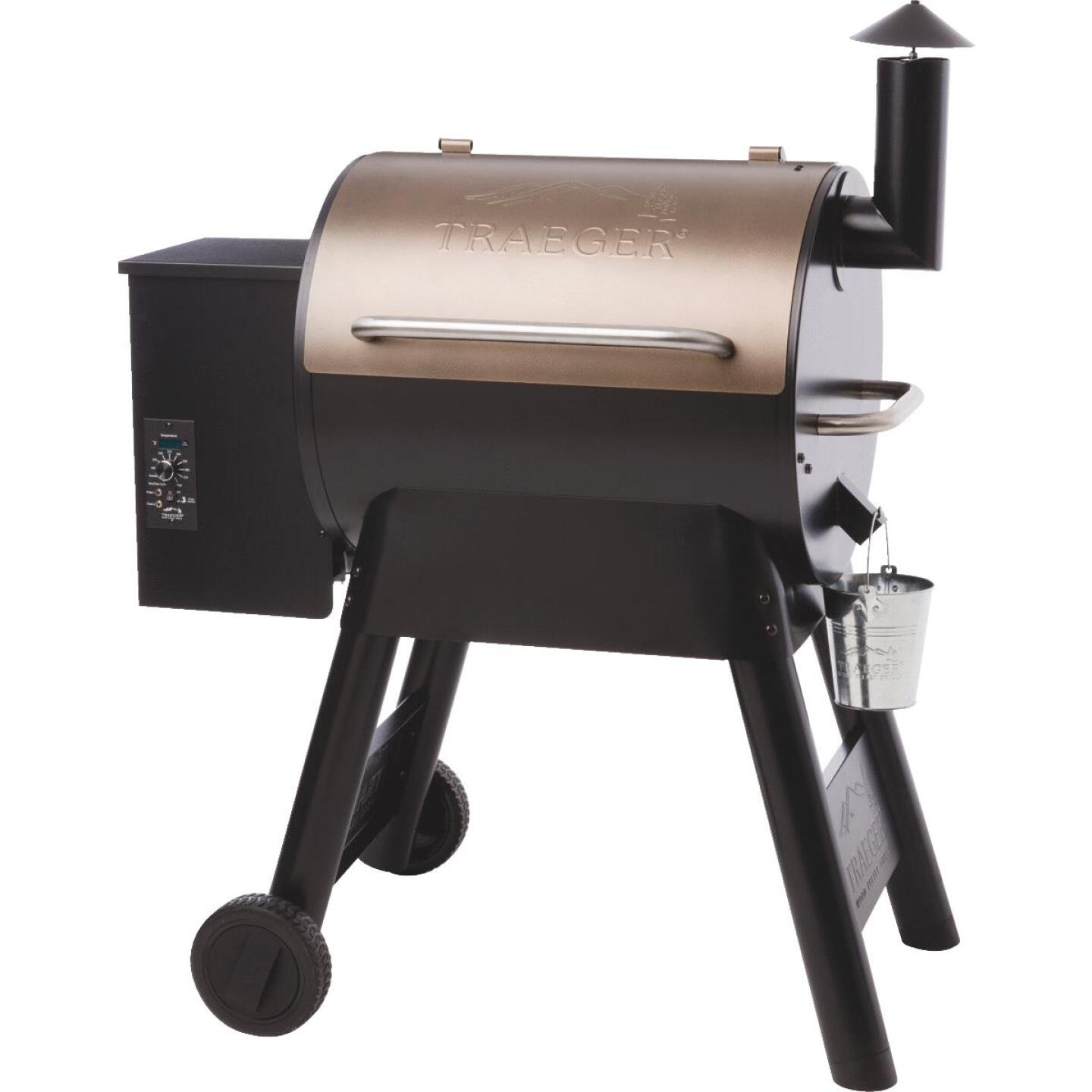 Traeger Pro Series 22 Bronze 20,000-BTU 572 Sq. In. Wood Pellet Grill Image 1